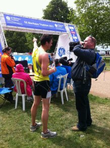 Joe Tidy Blenheim Triathlon