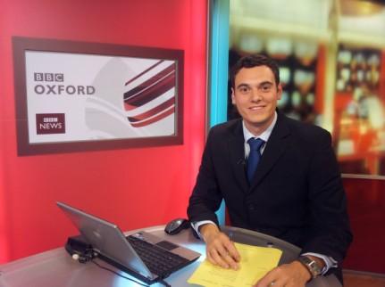 Joe Tidy last day on BBC Oxford TV