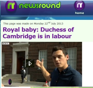 Royal Baby Newsround